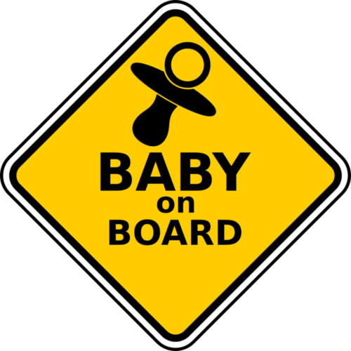 Baby On Board and Mommy To Be On Board