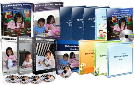 Children Learning Reading: Premium Package
