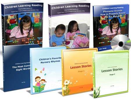 Children Learning Reading: Standard Package